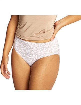 NO PANTY LINE PROMISE TACTEL PRINT HIGH CUT
