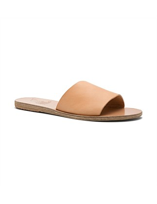 Single Strap Flat Slide Sandal