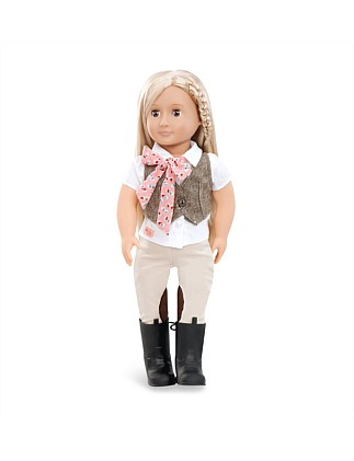 "Our Generation Leah 18"" Non Poseable Doll"