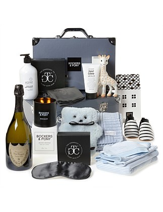 Lap Of Luxury Baby Boy Hamper