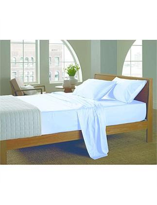 400tc Satin Double Sheet Set