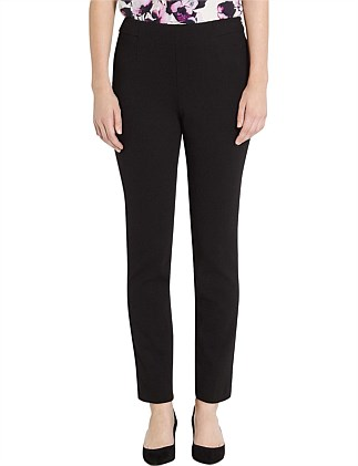 Lila Ponti High Waisted Full Length Pant