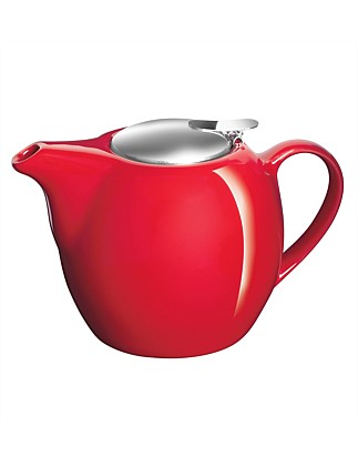 Camelia Teapot 750ml Fire Engine Red