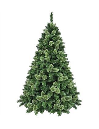 Aspen Dark Green Christmas Tree 213cm ... - Christmas Tree Shop Christmas Trees Online David Jones