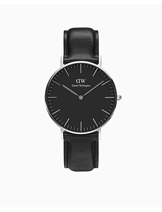 Classic Black Sheffield Watch