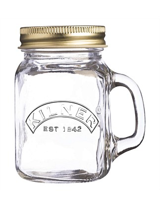 Genuine Mini Handled Jar 140ml