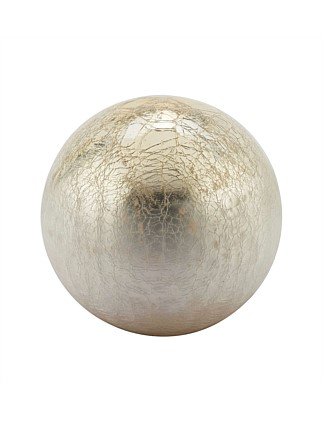 Large Gold Ombre Globe