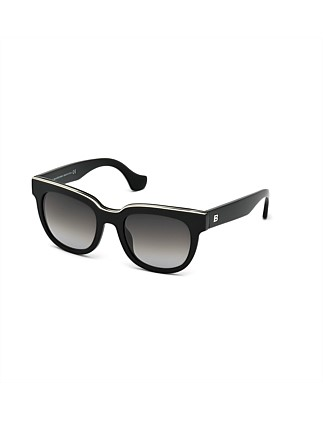 Soft Rounded Ladies Acetate Sunglass