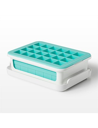 Oxo Covered Silicone Ice Cube Tray