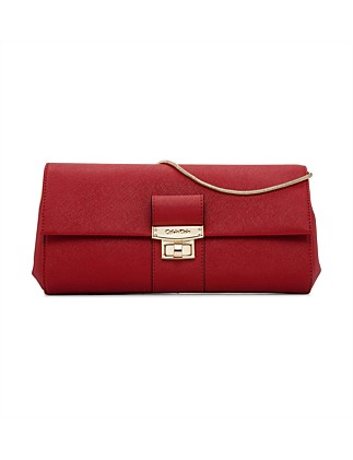 The Saffiano Evening Clutch