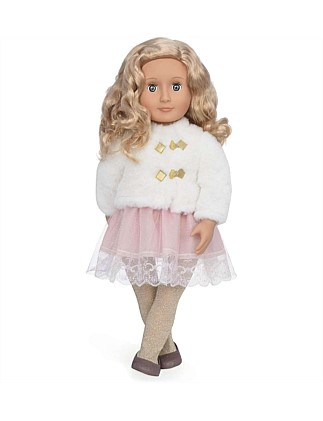 "Our Generation Halia 18"" Non Poseable Holiday Doll"