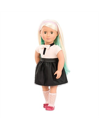 "Amya 18"" Doll With Chalk Deco Hair"