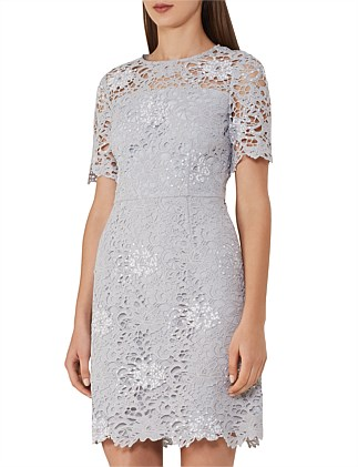 Lina-Lace A Line Dress
