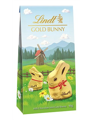 Mini Gold Bunny Pouch Bag 90g
