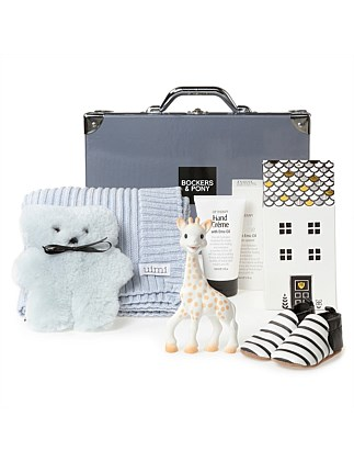 Opulent Baby Boy Luxury Hamper