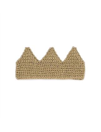 Gold Lurex Knit Crown