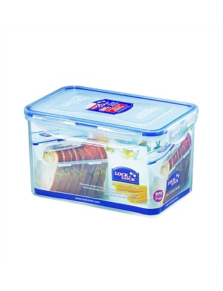 Rectangular Tall Food Container 1.9l