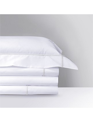 Athena Silver Flat Sheet Queen