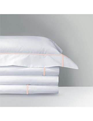 Athena Blush Flat Sheet Queen