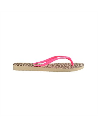 Kids Slim Animals Sand Grey/Pink