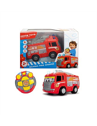 Remote Control Happy Scania Fire Engine