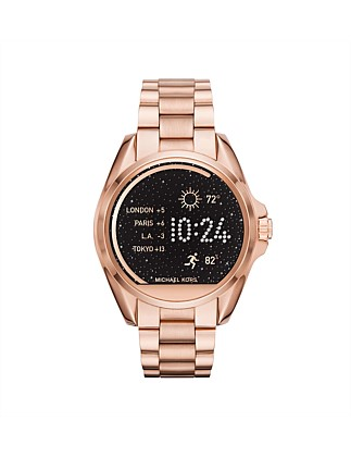 Bradshaw Rose Gold-Tone Display Watch