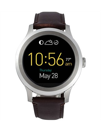 Fossil Q Founder Touchscreen Dark Brown Leather Smartwatch