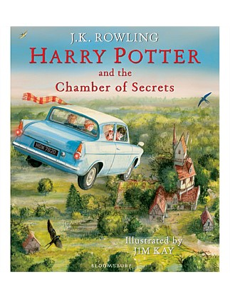 Harry Potter And The Chamber Of Secrets Fully Illustrated