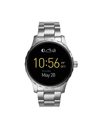 Q Marshal Touchscreen Stainless Steel Smartwatch