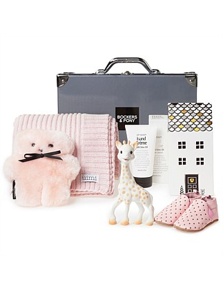 Opulent Baby Girl Luxury Hamper
