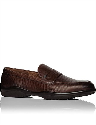 Michigan Leather Penny Loafer