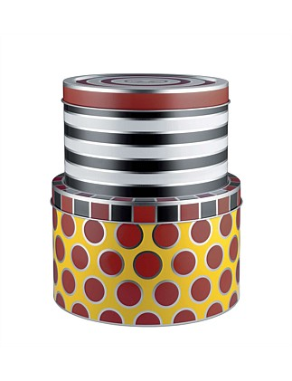 Circus Set 2 Tin Boxes Large