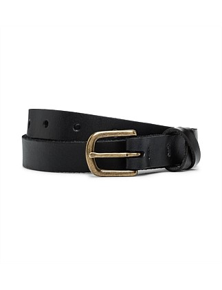 20mm Xover Leather Belt