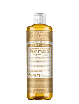 Liquid Castile Soap Sandalwood