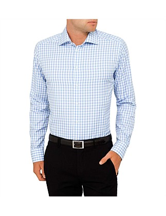 Signature Twill Check Slim Fit Shirt