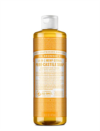 Liquid Castile Soap Citrus