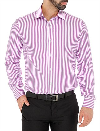 Slim Savoy Collar With Placket