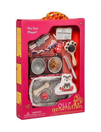 Our Generation Pet Care Accessory Set
