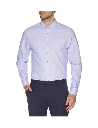 Micro Stripe Camden Super Slim Fit Shirt
