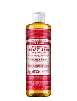 Liquid Castile Soap Rose