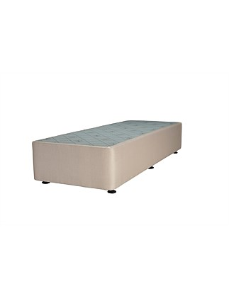 Spacesaver Oatmeal Long Single Base No Drawers