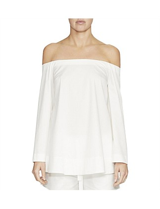 Melrose Plain Off The Shoulder Top