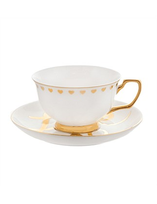 Xo Love Teacup & Saucer