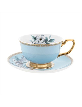 Butterfly Teacup & Saucer