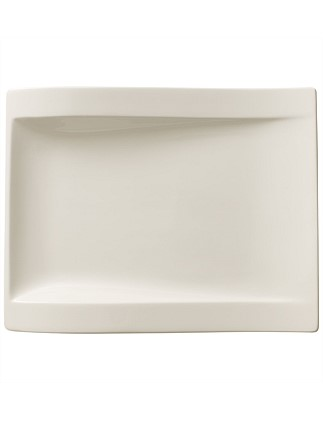 Newwave Rectangle Salad Plate 26x20cm