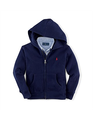 Cotton-Blend-Fleece Hoodie (8-14 Years)