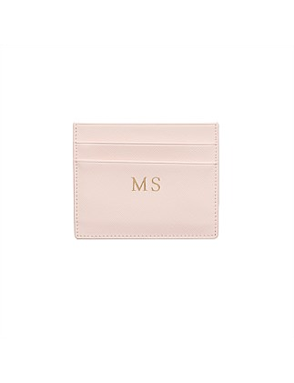 Pale Pink Double Cardholder