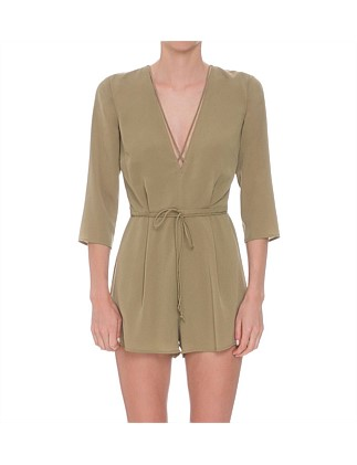 Maverick Long Sleeve Playsuit