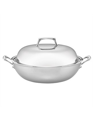 34cm Covered Wok