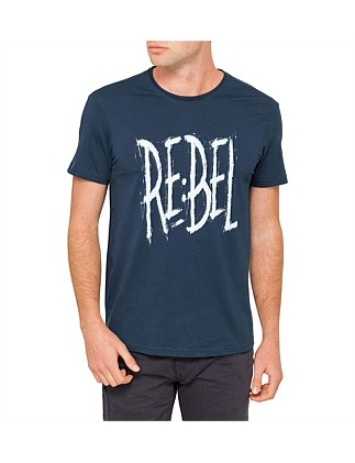 Denim Graphic Tee